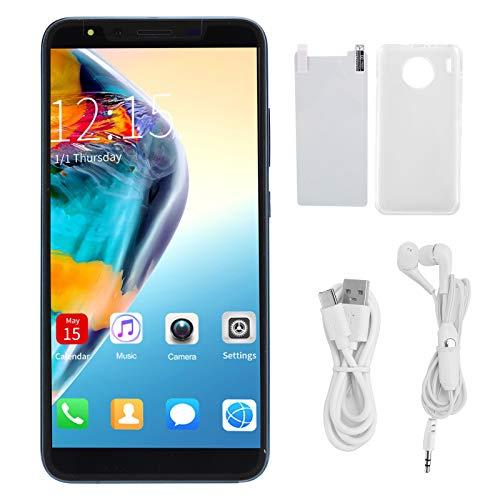 Agatige M30 Plus Smartphone Desbloqueado de 5,8 Pulgadas, Teléfono Móvil con Pantalla HD de Doble Tarjeta SIM 6GB + 64GB, con Reconocimiento de Huellas Dactilares Faciales