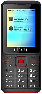 I KALL K37 Premium Keypad Mobile (Dual Sim, 1000 mAh) (Red)