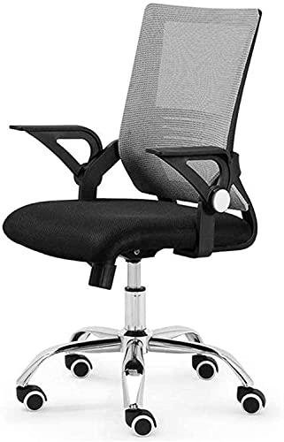 Bürostuhl Bürostuhl, Mid Back Mesh Computer Swivel Schreibtisch Taskstuhl, Ergonomischer Executive Chair Mit Flip-Up-Armen schön