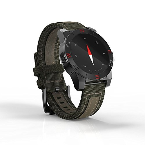 Impermeabile Bluetooth Smart Watch Phone, fitness e attività Tracker, frequenza cardiaca pressione, controllo di qualità del sonno, Remote camera, Bluetooth Smartwatch Phone per smartphone Android iOS