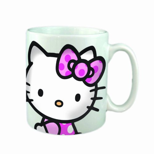 Hello Kitty Kaffeetasse weiss Sanrio Tasse 557-67102