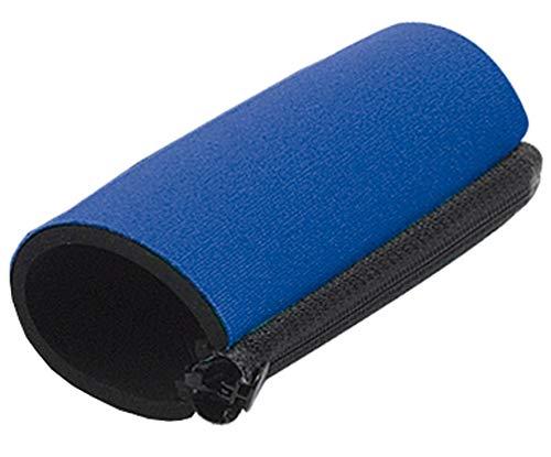 Griffpolster in blau universal für Krücke, mit Reißverschluß - Handpolster, K...