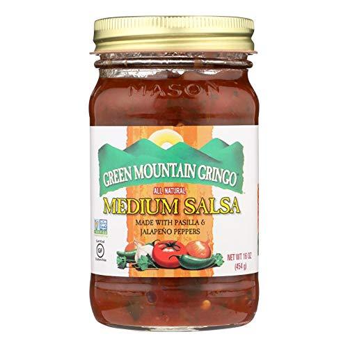 Green Mountain Gringo Medium Salsa, 16 Ounce -- 12 per case