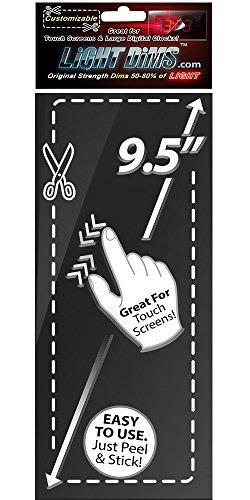 Lightdims Anpassbare Originalstärke, Lichtdimmer Sheets Für Alarmuhren, Elektronikgeräte, Haushaltsgeräte, Und Mehr. Dimmt 50-80% Licht, Mittelgroß, In Verkaufsverpackung.