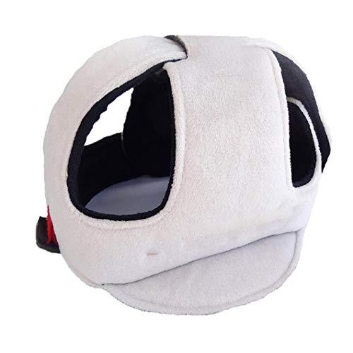 Casquillo de los niños inastillable ajustable Casco de seguridad del bebé Sombrero resistente a los choques Protector de cabeza para los niños Gris 🔥