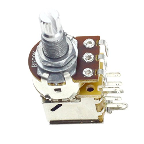 ENET Potentiometer für E-Gitarre, B500 K Ohm, Potentiometer