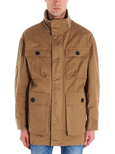 DSQUARED2 Luxury Fashion Herren S74AM1042S39021131 Beige Jacke |
