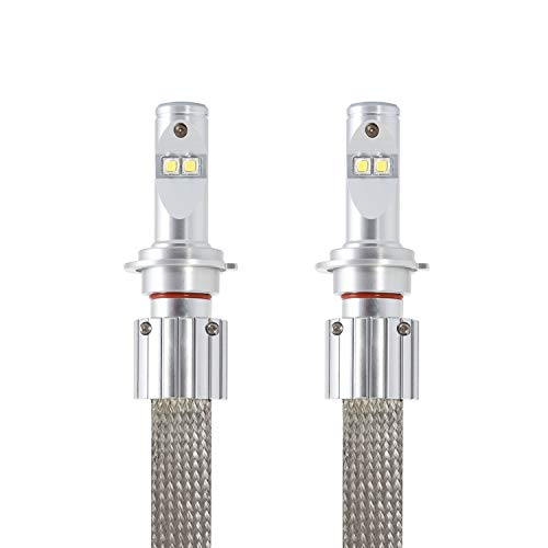 LEDKIA LIGHTING CREE H7 35W LED lamp set voor auto´s en motoren Koel wit 6000K
