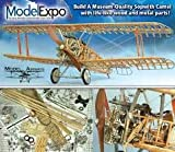 Model Airways Sopwith Camel, WWI British Fighter 1:16 Scale by Model Airways Wood and Metal Kit