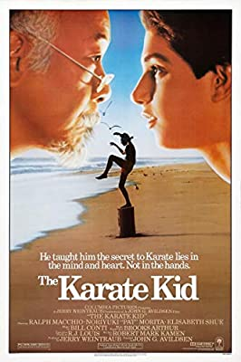 The Karate Kid Movie Poster 24 x 36 Inches Full Sized Print Unframed Ready for Display