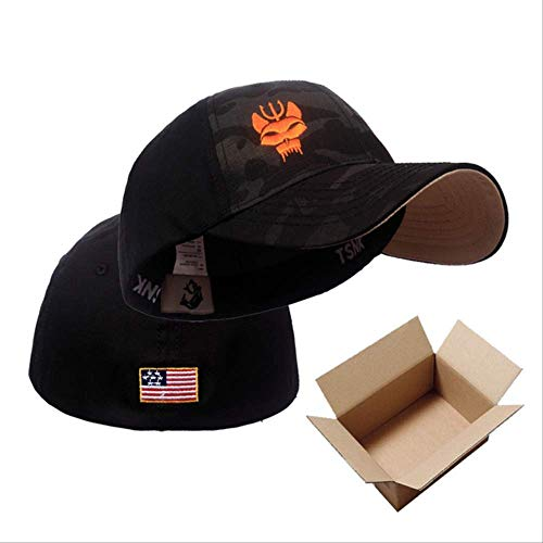 STBB Sports Cap Men's and Women's Military Enthusiasts Seal Team Tactical Baseball Cap Snapback Stretchable Hat Running/Fishing M MCBK