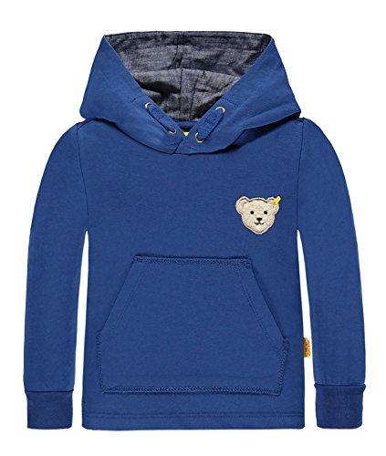 Steiff Baby-Jungen 1/1 Arm Sweatshirt, Blau (Limoges 3020), 86