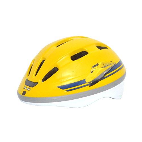 Kanack(カナック) キッズヘルメット 923形 ドクターイエロー 黄色い新幹線 H-004 (頭囲 50cm~56cm)