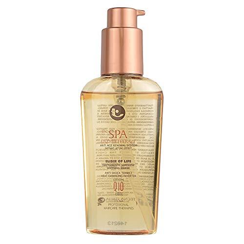 Tecna the spa enzymetherapy elisir of life 100 ml trattamento rinnovatore per capelli trattati chimicamente o bruciati con coenzima Q10 100ml