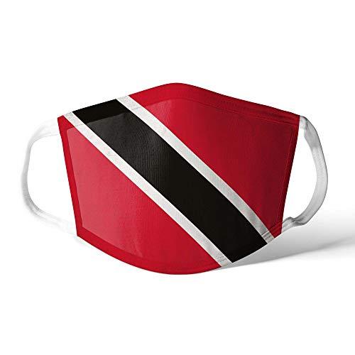 M&schutz Maske Stoffmaske Klein Amerika Flagge Trinidad und Tobago Wiederverwendbar Waschbar Weiches Baumwollgefühl Polyester Fabrik