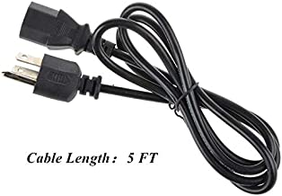 SLLEA AC Power Cord Outlet Socket Cable Plug Lead for Sharp PN-L802B 80,PN-L702B 70, PN-L602B 60 LED LCD Monitor