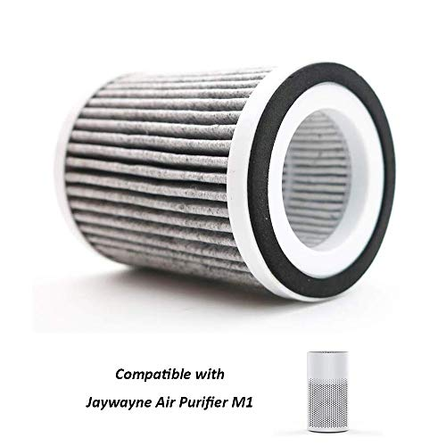 JAYWAYNE Filter Replacement Air Purifier Replacement Filters for M1 - Best Filter for Pets, Smoke and Dust