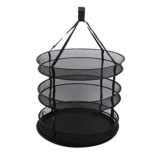 unknow Xinmuye Drying Net Hydroponics Plant Grow Kit Hydroponic Detachable Rack Adjustable Carrying Bag,Black