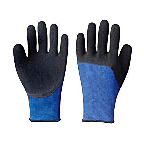 Lotshop All Purpose Huishoudelijke Werkkleding Buiten Tuin Kwaliteit Handschoenen Pack of 4 blauw-zwart