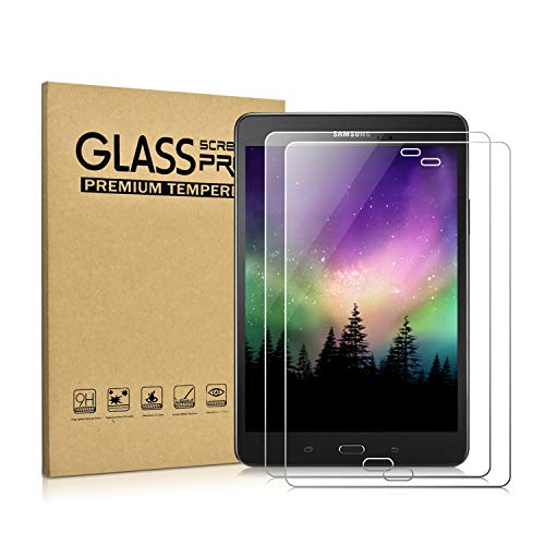 KATUMO Samsung Galaxy Tab A 8.0 Protector de Pantalla, SM-T350 2015 Templado Glass Film Protector para Samsung Galaxy Tab A 8 Pulgadas Tableta, 2 Pack