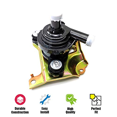 G9020-47031 Coolant Inverter Water Pump with Bracket for 2004-2009 Toyota Prius Hybrid 1.5L Replace G902047031 04000-32528 601-015