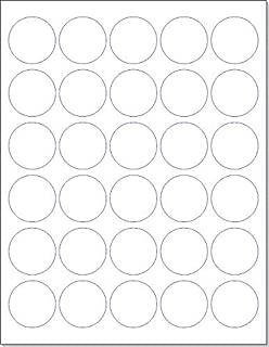Laser/Ink Jet White Labels (1.5