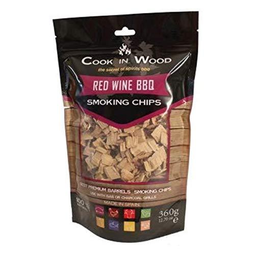 Cook en bois Rouge vin BBQ Chips 360 g