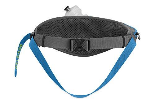 Ruffwear Laufgürtel, Für freihändiges Laufen mit Hunden, Einheitsgröße, Grau (Granite Grey), Trail Runner Belt, 3597BE-035