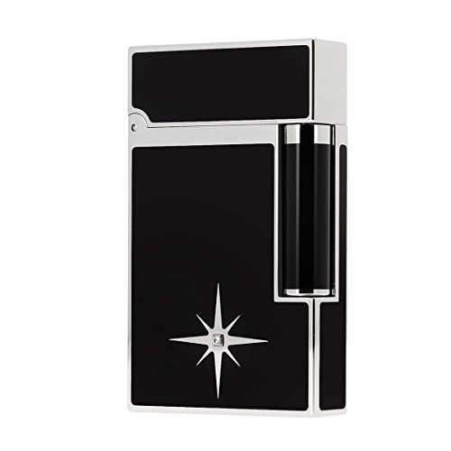 Review S.T. Dupont Soft Flame line 2 Diamond Solitaire Lighter [16718]
