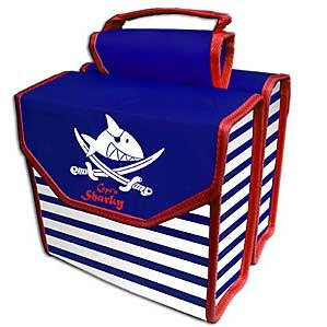 Doppeltasche Capt`n Sharky