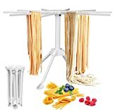 MEQUER Pasta Drying Rack Collapsible - Household Noodle Dryer Rack Hanging for Home