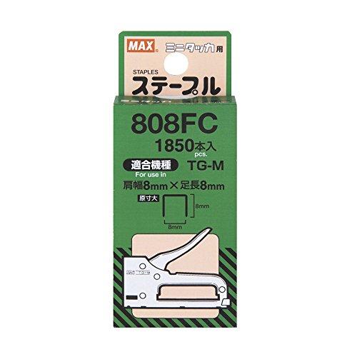 マックス ミニタッカ TG-M用ステープル専用針 808FC