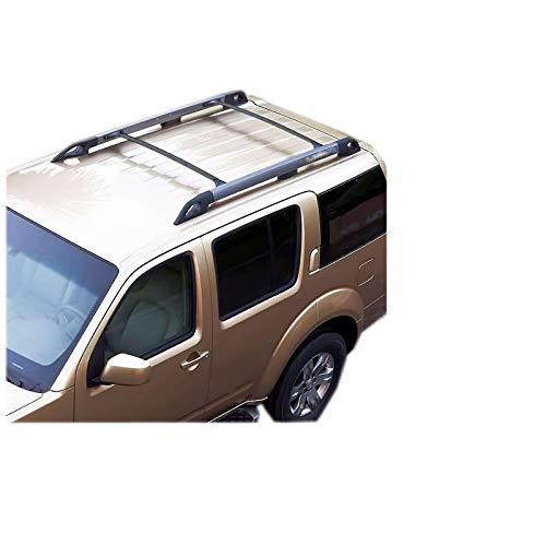 shenme Barras para el Techo de Aluminio,Barra Transversal de Techo de Aluminio para Nissan Pathfinder 2005-2012