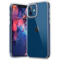 For iPhone 12 Case:Compatible with iPhone 12/iPhone 12 Pro 6.1 Inch For iPhone 12 Pro Case: TPU + Hard PC with 4 cushioned corner bumpers and raised lips camera protection bumper, guaranteed to withstand shocks and scratches! For iPhone 12 Case Clear...