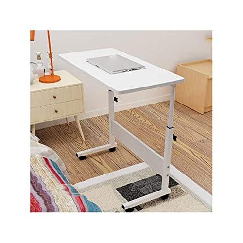 MQJ Mesa de Cama Mesa Móvil Escritorio Móvil Ajustable Tabla Portátil Movible Inforión de la Computadora para Estaciones de Trabajo de la Computadora para la Oficina de Oficina para el Hogar Laptop P