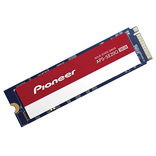 Pioneer 500 GB NVMe PCIe M.2 2280 Gen3x4 Interne SSD Serie de Estado sólido (APS-SE20Q-500)