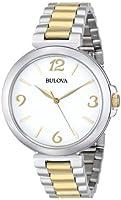 ブローバ Bulova Women's ウィメンズ レディース 女性用 98L194 Analog Display Japanese Quartz Two Tone Watch 時計 腕時計 [並行輸入品]