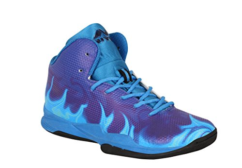 Nivia Phantom Basketball Shoes -Red Blue
