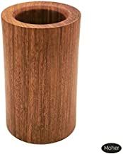 MOHER - Pen Container - Wooden (Bruma Rosewood) - for Home, Office Desk Made in Vietnam