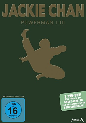 Jackie Chan - Powerman I-III [3 DVDs]