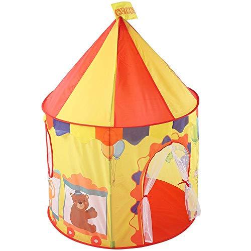 Tienda de campaña para niños Castillo de circo Espacio para niños Casa de juegos emergente Tienda de campaña Princesa plegable Tipi grande Juegos divertidos Tienda de campaña Juguetes para niñas /