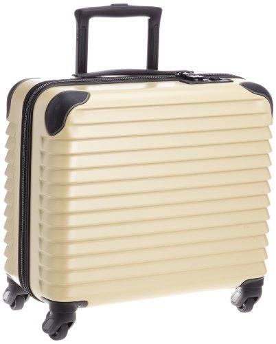 [カーゴ] スーツケース ジッパー CAT353 ビジネスキャリー 機内持ち込み可 保証付 28L 40 cm 2.9kg エンボスベージュ