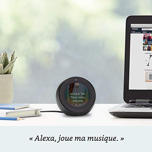 Réveil connecté Amazon Echo Spot 4