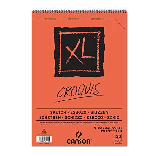 Canson 787115 Album Schizzo, XL, A3, 120 Fogli