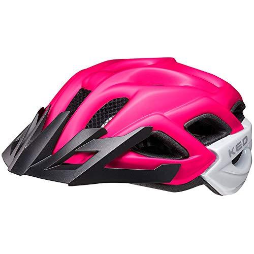 KED Status Helm Kinder pink Purple matt Kopfumfang M | 52-59cm 2021 Fahrradhelm
