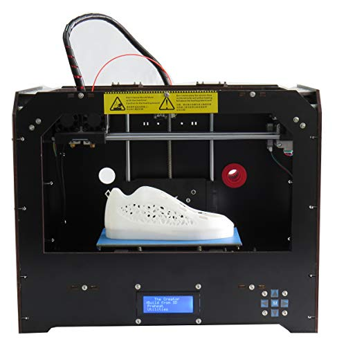 CTC Stampante 3D, stampante desktop 3D Bizer, il computer può funzionare con il driver installato, testina di stampa Mk8, dimensioni di stampa 225 * 145 * 150mm