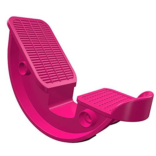 Byjia Camilla de Pantorrilla para la tendinitis de Aquiles, talón, Shin Splint, Estiramiento de la Pierna Estirada, Estiramiento de la cuña del Tobillo,Pink,27.2 * 13.5 * 10cm