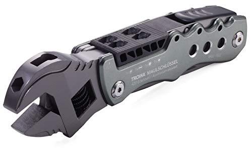 Troika Unisex– Erwachsene Design Werkstatt Multi-Tool, schwarz, 152 x 40 x 20 mm