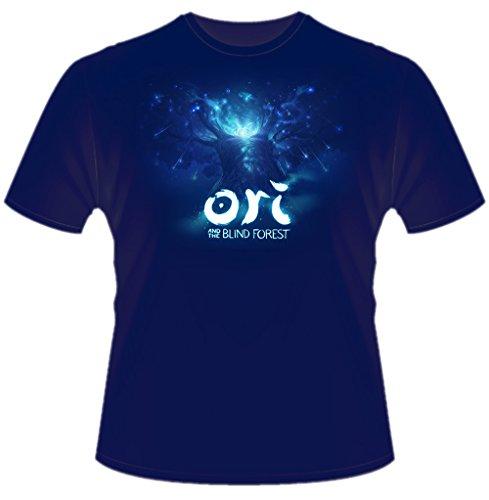 Gaya Entertainment Ori And The Blind Forest - T-Shirt Uomo Albero dello Spirito Cotone Blu - XL