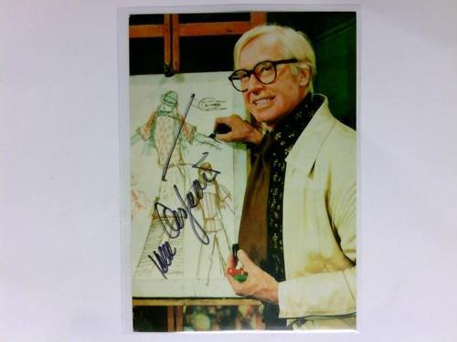 Signierte Autogrammkarte